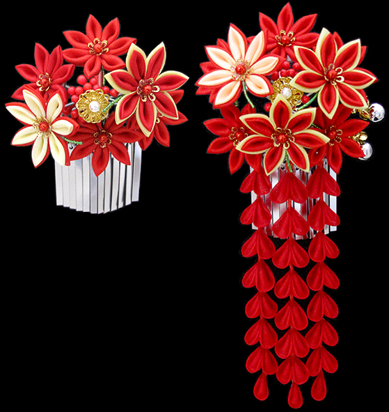 摩耶の花かんざし