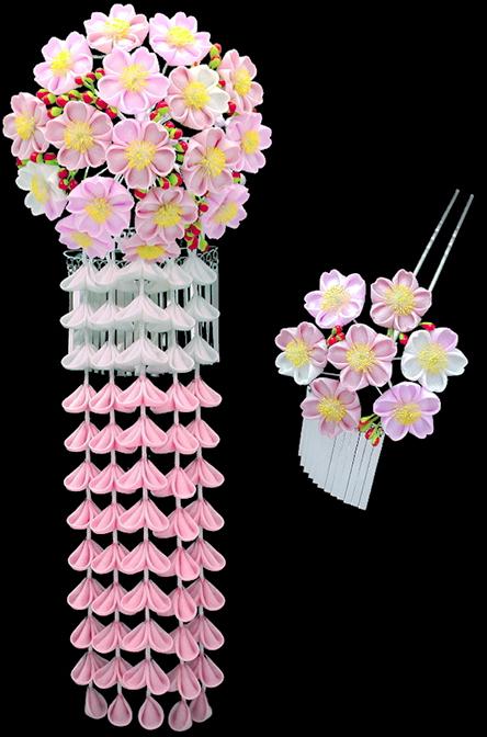 さくら花かんざし