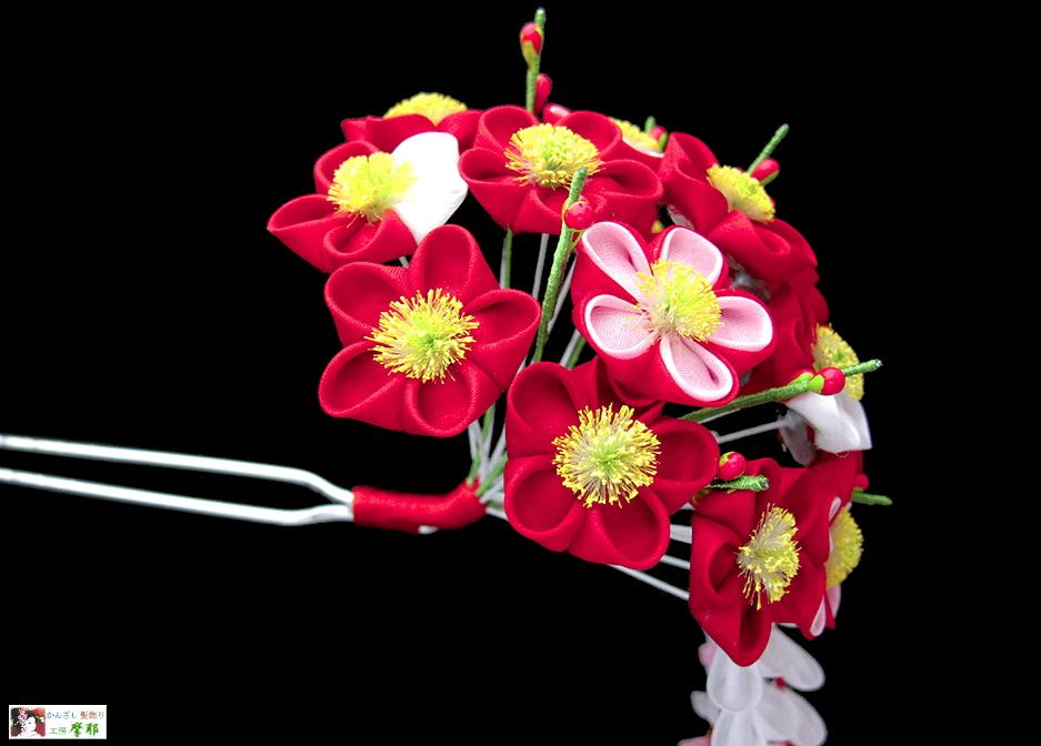 舞妓さん 季節の花かんざし