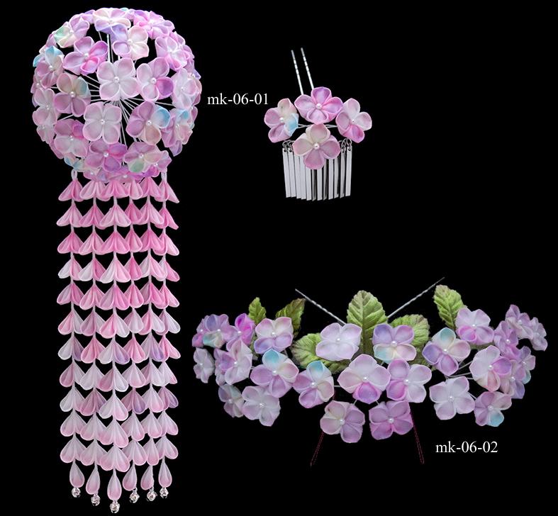 紫陽花 花かんざし