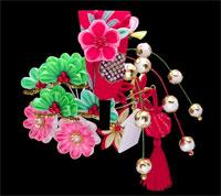 December kanzashi