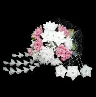 薔薇 かんざし 婚礼
