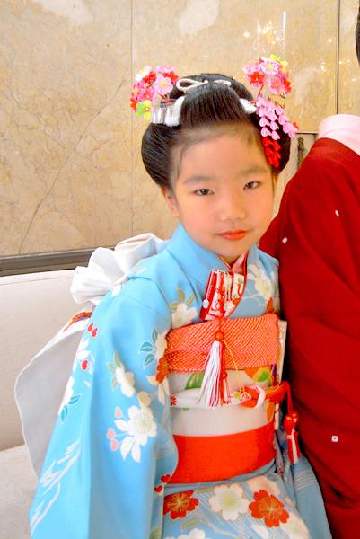 七五三 かんざし 髪飾り k-50, op-01, tegara kanoko red