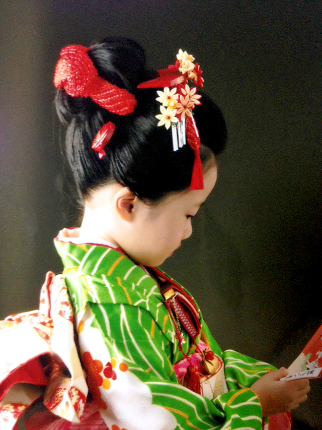 七五三 摩耶の花かんざし 楓かんざし kd-03