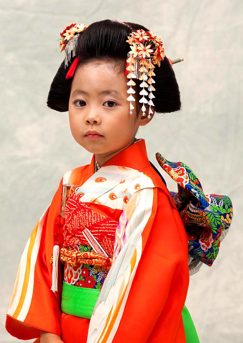 七五三 摩耶の花かんざし k-10-04 op-02 kanoko橙 etc