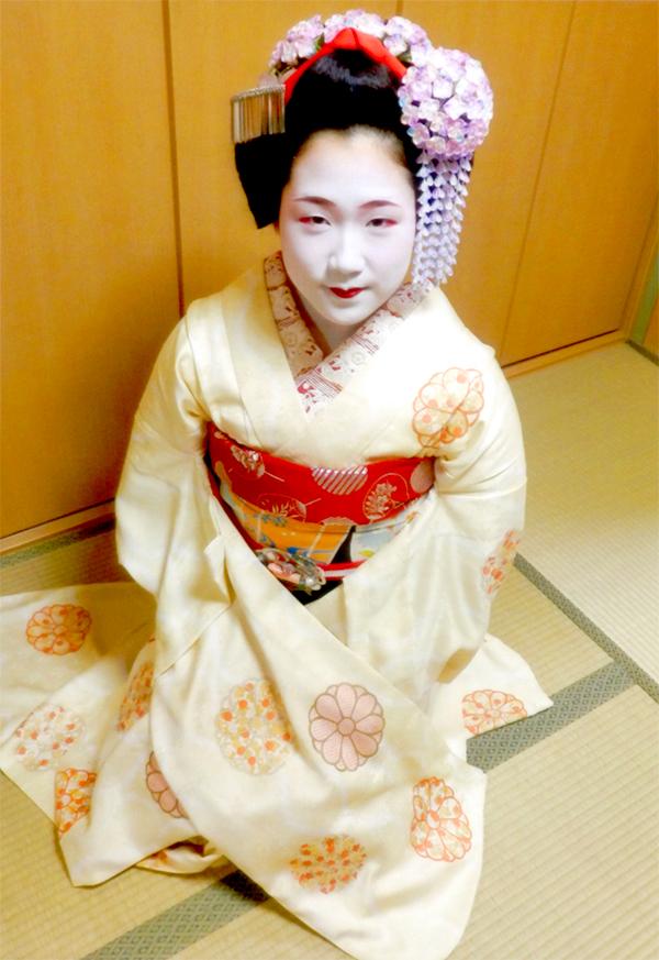 京都 舞妓 久桃様