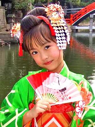 七五三 摩耶の花かんざし kd-04
