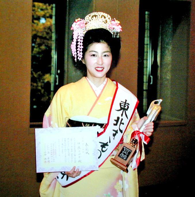 全日本きもの装いコンテスト女王