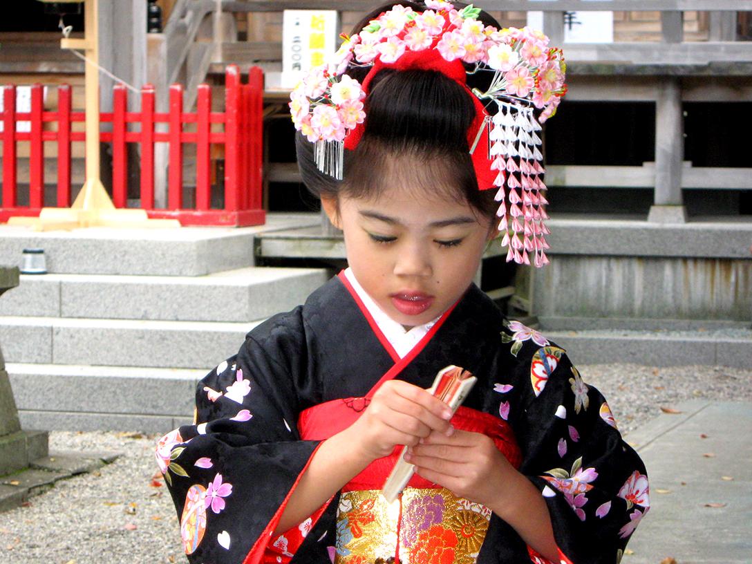 七五三 摩耶の花かんざし k-03