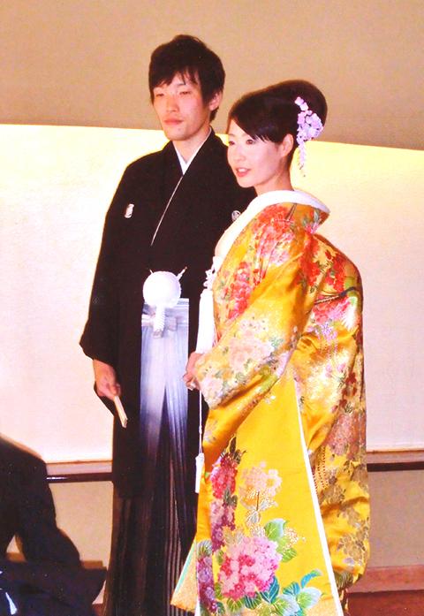 婚礼 摩耶 かんざし 紫陽花