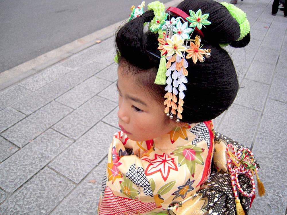 七五三 摩耶の花かんざし 楓
