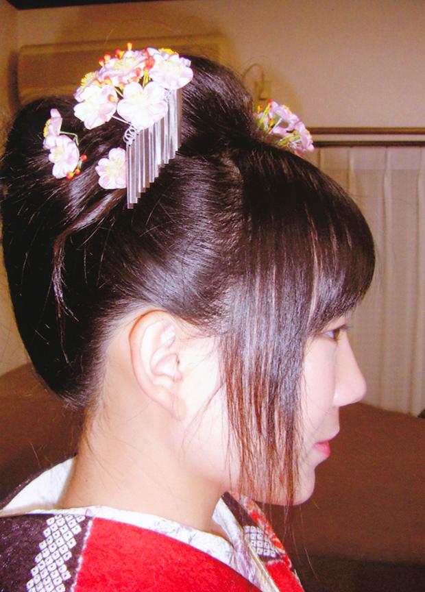 成人式 摩耶の花かんざし k-03-01 小ピン追加