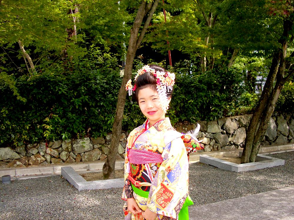 七五三 摩耶の花かんざし 楓セット