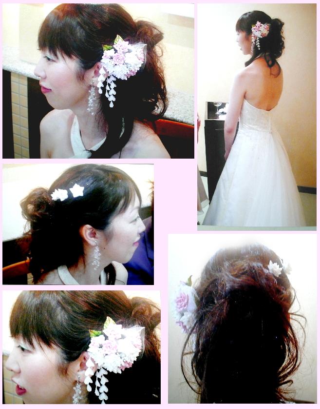婚礼 結婚式 髪飾り