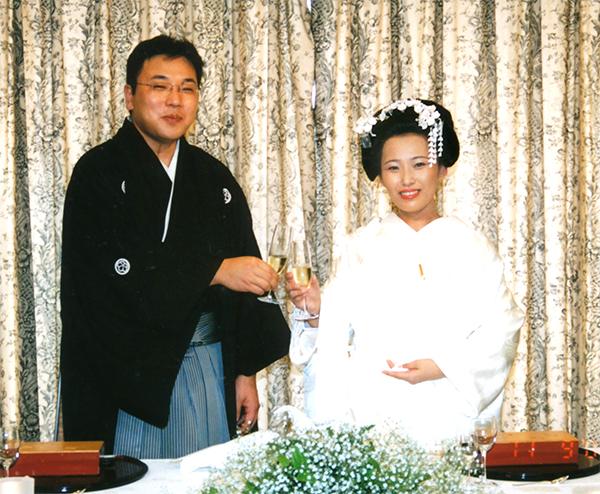 婚礼 花かんざし