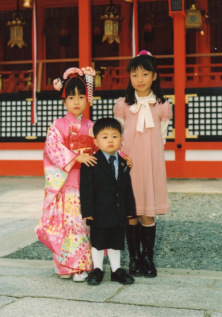 七五三 摩耶の花かんざし k-03-01 花櫛ピンク系 op-02